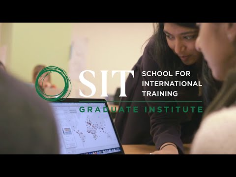 Welcome to SIT Graduate Institute