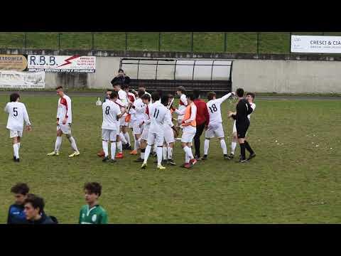 immagine di anteprima del video: Esultanza Vittoria Campionato Allievi 2018-2019