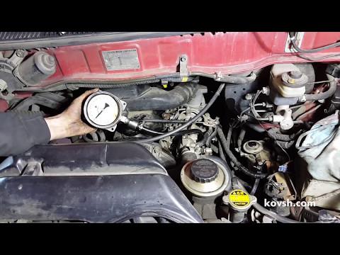 Фото к видео: Причина недостаточной мощности двигателя 2L Toyota HiAce