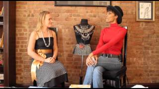 PopimpessKA Presents Supermodel/Coach Lu Celania Sierra Interview!