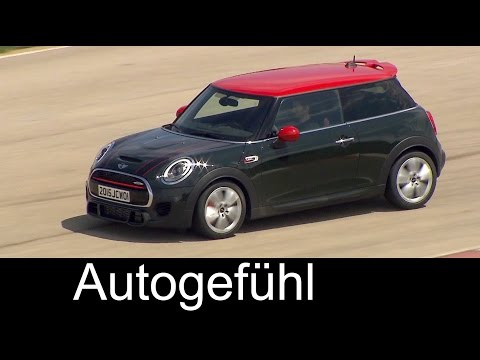 Preview New MINI John Cooper Works F56 Sound, Driving shots, Exterior, Interior 2016 - Autogefühl