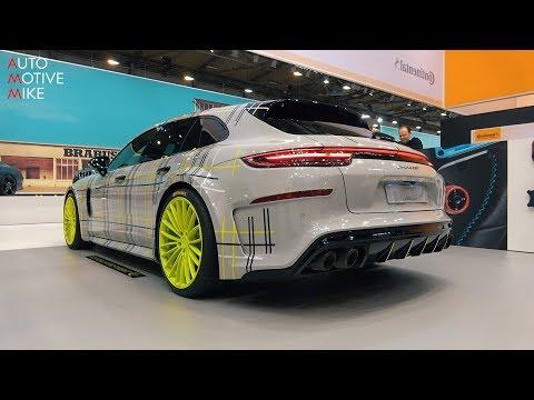Porsche 971 Panamera Turbo S E-Hybrid Sport Turismo TechArt GrandGT