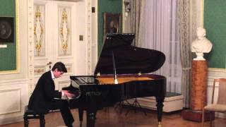 Justas Maknickas plays F. Chopin Etude op. 10 no. 9