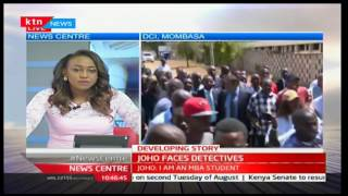Developing Story:Joho faces detectives