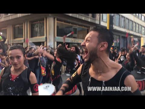מופע רחוב מרשים ומיוחד שיגרום לכם להזיז את כל הגוף