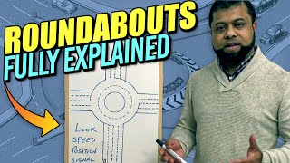 Roundabouts driving lessons - How to deal with roundabouts - Learning to drive!