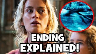 A Quiet Place ENDING & CREATURES Explained - Video Youtube