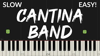 Cantina Band - Star Wars   EASY Piano Tutorial