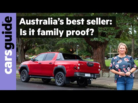 Toyota HiLux 2021 review: Rogue family test - see the ultimate tradie ute as a family car