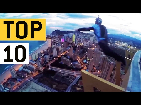 Top 10 Ways To Fly || JukinVideo Top Ten