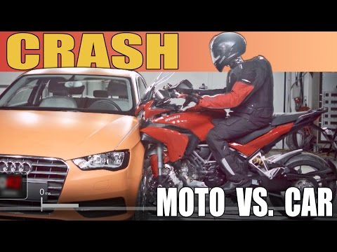 Dainese D-Air Plus Ducati Multistrada Means Safe(r) Motorbike Crashes