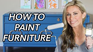 How To Paint Furniture: A Beginners Guide