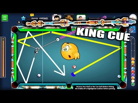 8 Ball Pool- KING CUE !! The Best Cue In History- Trickshot Filled Match + Berlin Platz Bloopers