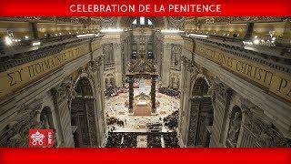 Pape François - Célébration de la pénitence 2018-03-09