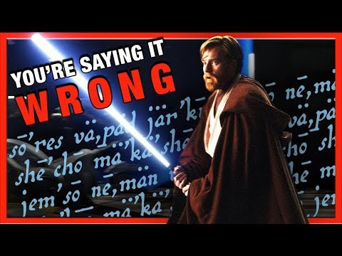 You're Saying This Star Wars Word Wrong | Geek Talk