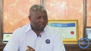 Acting KPA, MD Dr Manduku speaks about the upgrades on the container