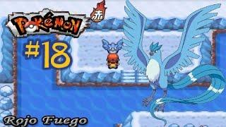 Articuno  - (Pokémon) - Pokémon Rojo Fuego #18 - Islas espuma. ¡A por Articuno!