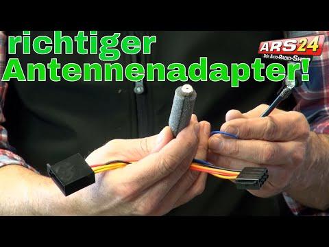 Welche Antennenadapter benötige ich für mein Autoradio? Fakra-Stecker und andere Adapter!