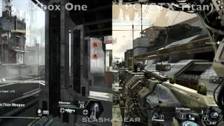 Компьютерные и консольные игры, Сравнительное видео Titanfall для Xbox One и PC