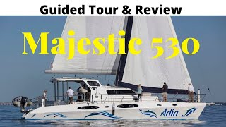 Guided Tour And Review: Majestic 530 (2019).  New Hull Shape Coming With A Higher Price Tag