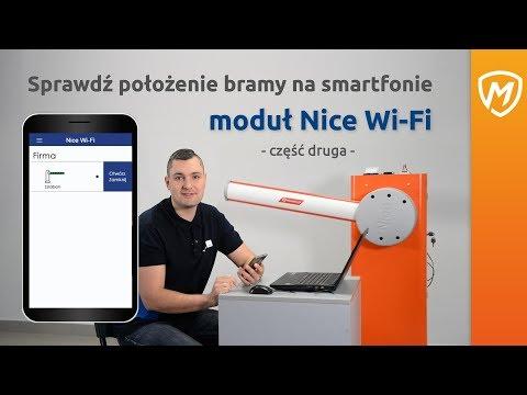 Moduł Nice Wi-Fi- Część 2- Sprawdź położenie bramy na smartfonie - zdjęcie