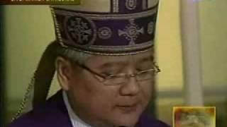 Cory Aquino Funeral - Bishop Soc Villegas