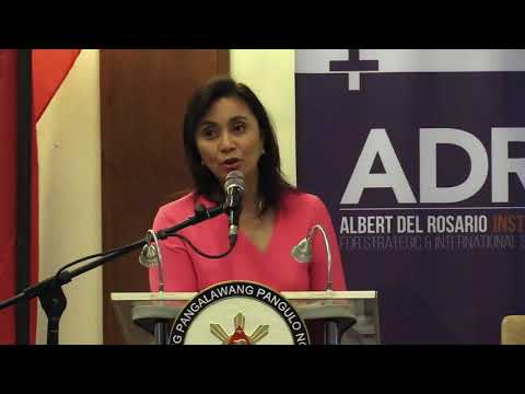 [Inquirer]  VP Robredo urges Filipinos to oppose military build-ups in South China Sea