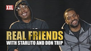 Starlito and Don Trip Barely Know Each Other - Real Friends