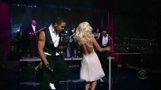 Christina Aguilera - Aint No Other Man Live (David Letterman) HD