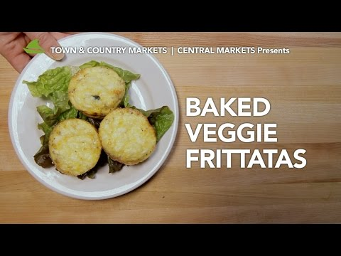 Baked Veggie Frittatas video