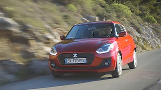 1er essai de la Suzuki Swift 2017