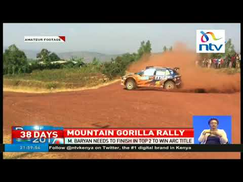 Manvir Baryan needs to finish top to to win Africa Rally Championship