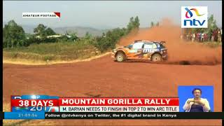 Manvir Baryan needs to finish top to to win Africa Rally Championship