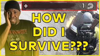 H1Z1 King Of The Kill Fives | H1Z1 KOTK Fives #1 - HOW DID I SURVIVE THAT???