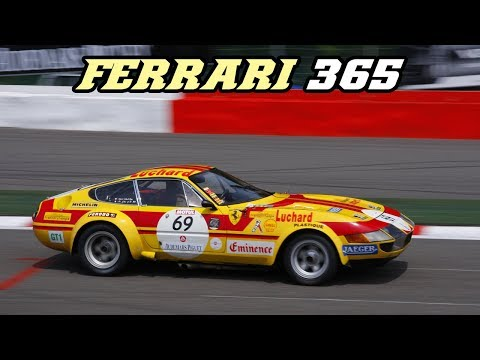 Ferrari 365 Daytona group 4 - compilation (great V12 sounds)