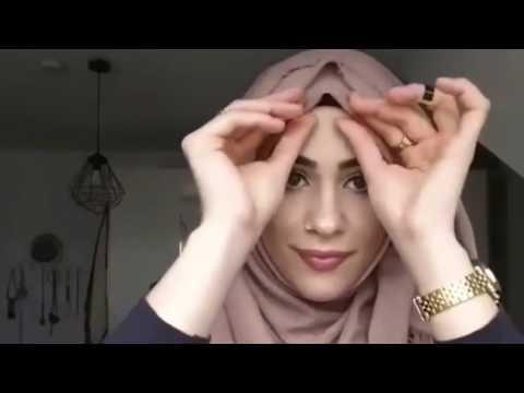 Video Simple Hijab Style - Tutorial - Part 3