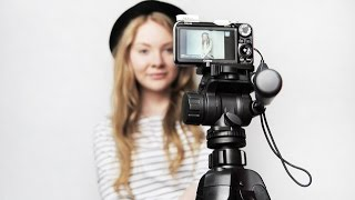 how to focus for self portraits- photography for beginners