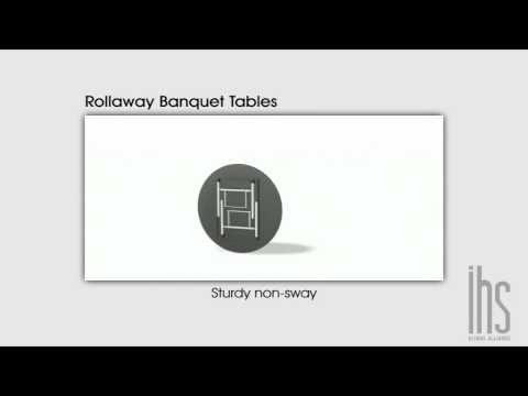 Banquet Table | Rollaway