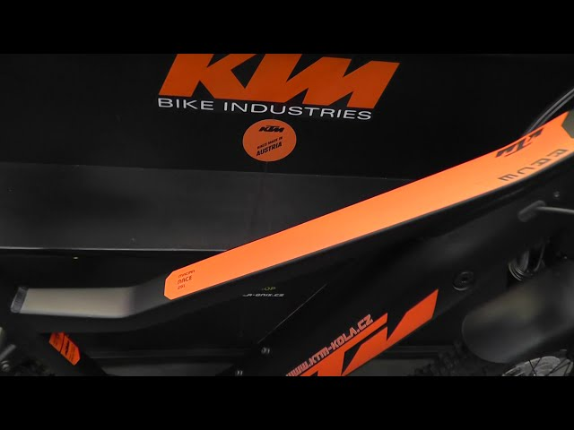 "Видео Электровелосипед KTM Macina Race 291 29"" 500Wh"