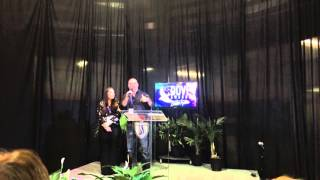 """Mark Schultz talking about """"A Different Kind of Christmas"""" at the Dove Awards"""