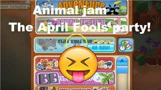 Animal jam: The April fools party!
