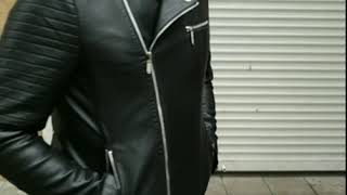 """Утепленная мужская куртка на молнии без капюшона чёрного цвета S от компании """"Slipa"""" интернет магазин одежды и обуви - видео"""