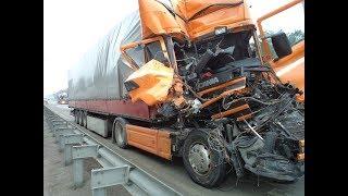 Подборка Аварий Грузовиков / Truck Crash Compilation