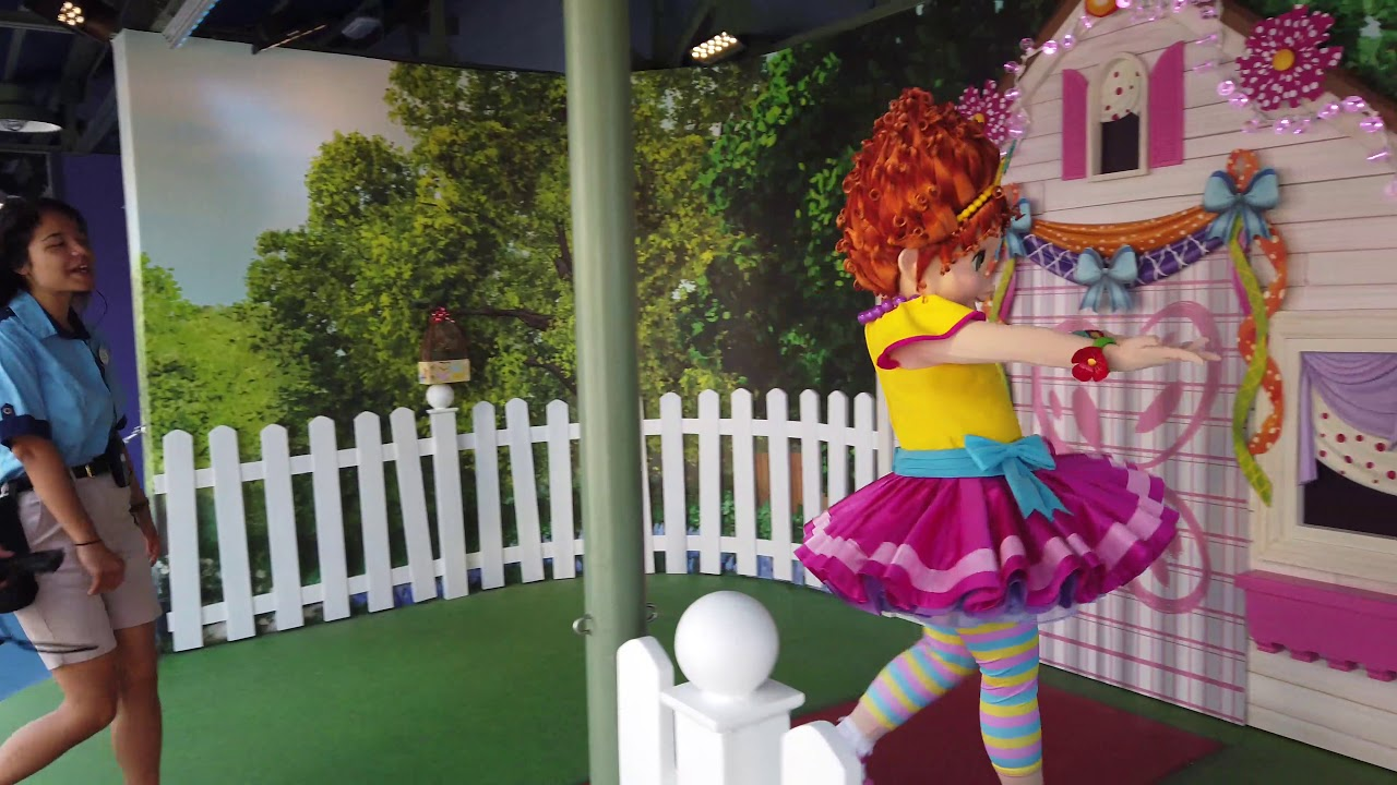 Fancy Nancy meet and greet at Disney's Hollywood Studios