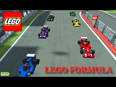 LEGO Speed Champions Gameplay | Best Kid Games | Lego Formula Cars Racing Game