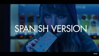 Taylor Swift  -  End Game ft. Ed Sheeran (Spanish Version) - Cover en Español