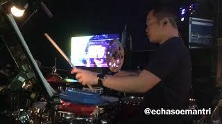 Echa Soemantri - Ghea - I'm Yours (Jason Mraz) Indonesian Idol 2018 - #ESdrumcam