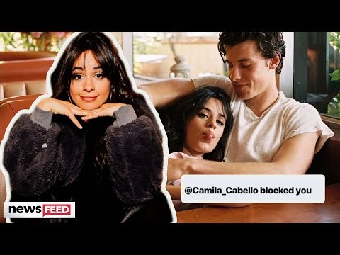 Camila Cabello's BLOCKING Fans Who Say Her Romance Is FAKE!