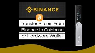 Transfer BTC von der CoinBase in die Binanzgebuhr