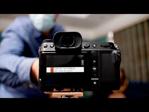 Fuji GFX 100s FAIL - Retro Portrait Shoot